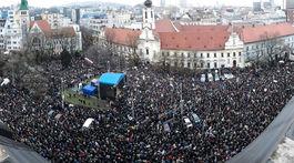 Za slušné Slovensko, Bratislava