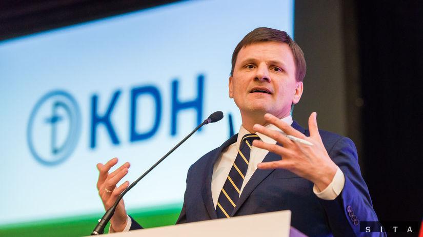 KDH: Snem strany k vo¾be predsedu a podpredsedov