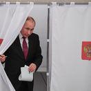 Po spočítaní 30 percent volebných okrskov Putin vedie so 73,1 percentami hlasov