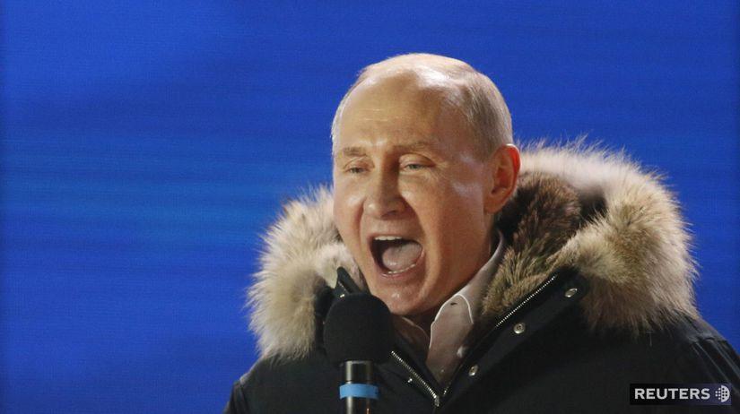 Vladimir Putin, Rusko, voľby, moskva