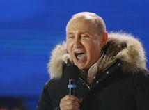 Putin vedie so 73,1 percentami hlasov. Musíme udržať jednotu, vyhlásil