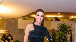 Bývalá modelka a riaditeľka súťaže Miss Universe Silvia Chovancová-Lakatošová.