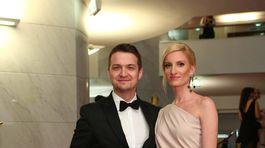 Manželia Adela Vinczeová a Viktor Vincze.