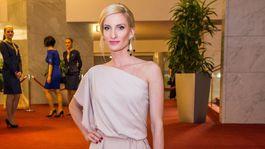 Moderátorka Adela Vinczeová.