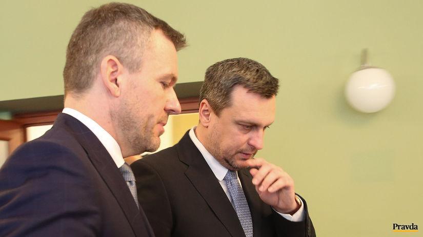stretnutie, Danko, Pellegrini, rokovanie, vlada,