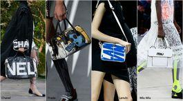 trendy v doplnkoch - sezóna jar-leto 2018 - móda (Chanel, Prada, Lanvin, Miu Miu)