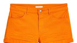 Dámske šortky H&M, predávajú sa za 9,99 eura.