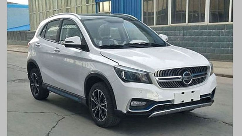 K-One - čínska kópia Mercedesu-benz GLA