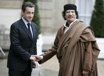 kaddáfí Sarkozy