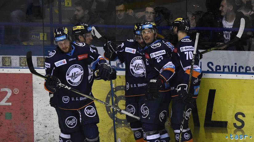 SR hokej  štvrťfinále playoff Košice B....