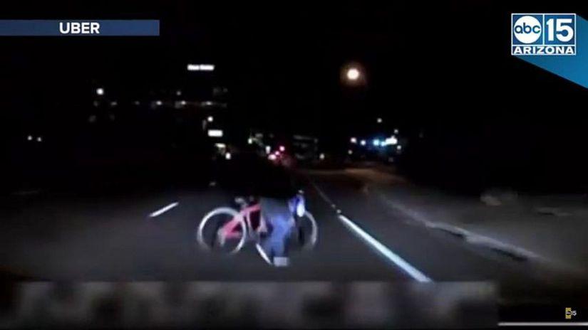 Uber - nehoda