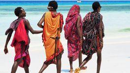 Zanzibar, masajovia, more,