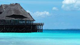 Zanzibar, more, leto, dovolenka, chata, chatrč