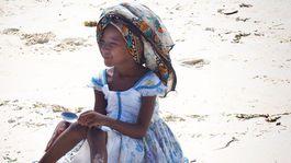 Zanzibar, pláž,