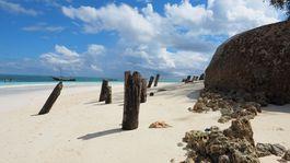 Zanzibar, pláž, piesok, oceán
