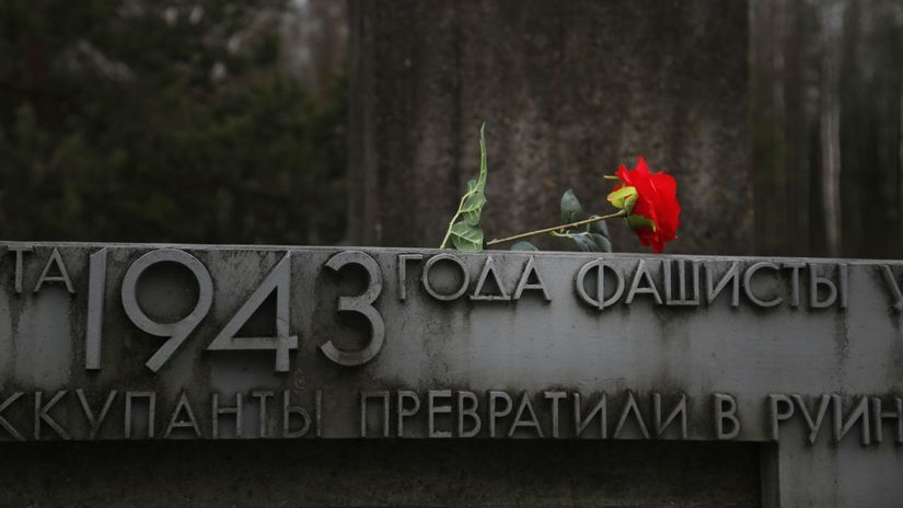 chatyň, masaker, hitler, bielorusko