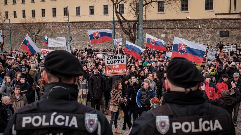 Nie je nám to jedno, demonštrácia, protest...