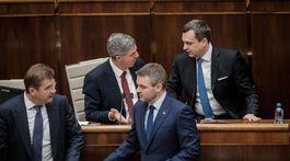 parlament, bugar, pellegrini, danko, ziga