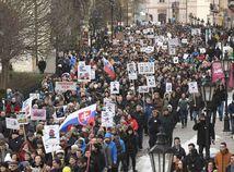 Bratislava, Košice, Žilina, Banská Bystrica, Prešov. Protestovalo sa po celom Slovensku