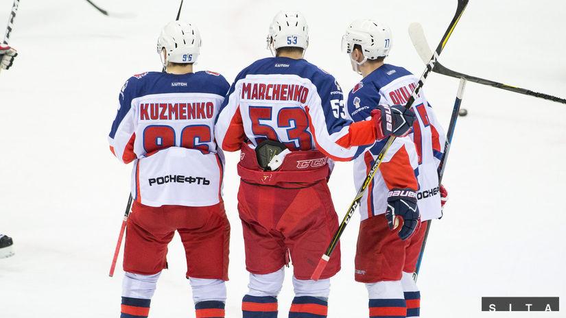 CSKA Moskva, hokej, radosť