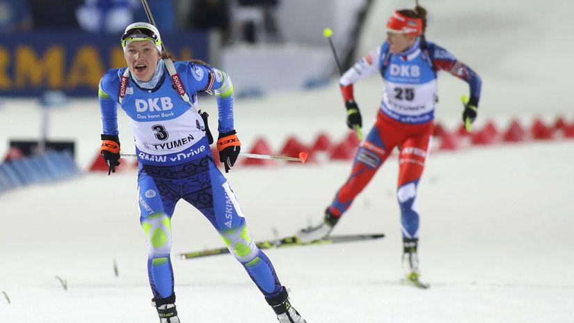 Daria Domračevová
