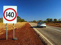 Dopravná značka - rýchlosť