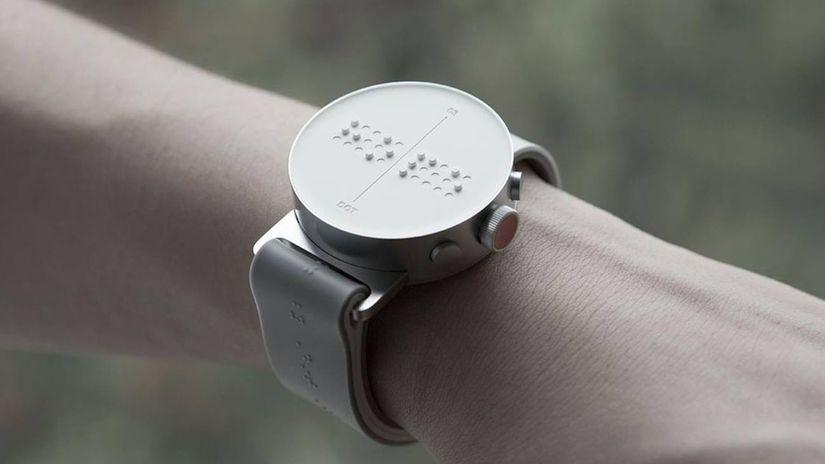 Dot Watch, hodinky, Braillovo písmo