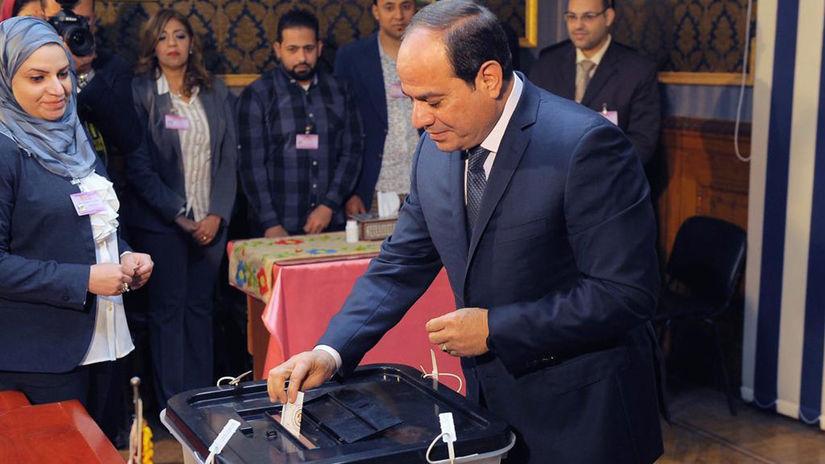 Abdal Fattáh Sísí, Egypt, voľby, prezidentské,...