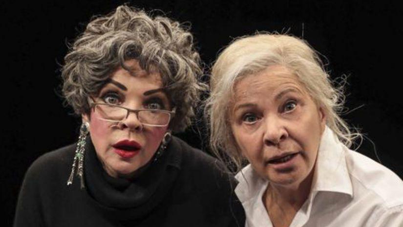 Kamila Magálová  a Zdena Studenková