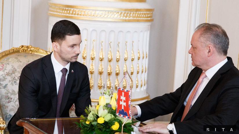 Prijatie Štátneho tajomníka MZVaEZ SR Kiska...