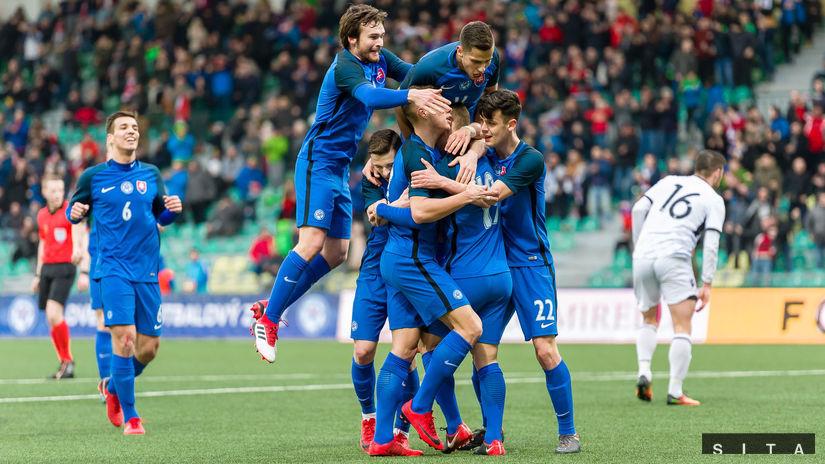 Slovensko, Albánsko, gól