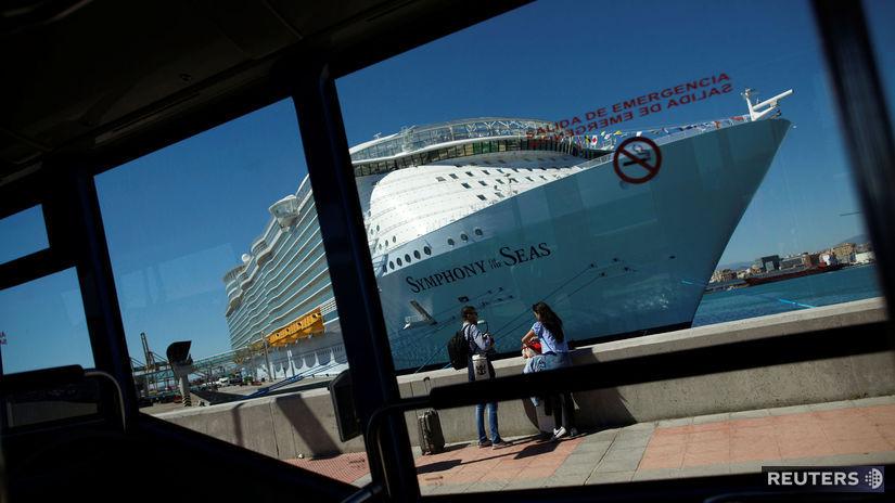 výletná loď, Symphony od the Seas,