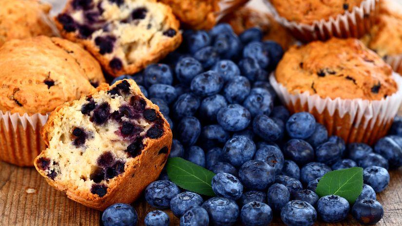 Čučoriedkové muffiny nie sú práve najzdravším...