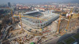 Národný futbalový štadión - marec 2018