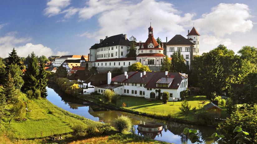 Jindřichuv Hradec, hrad, Ladislav Renner  Czech...