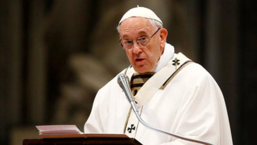 pápež, František, Svätý Otec, omša, Zelený...