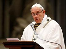 pápež, František, Svätý Otec, omša, Zelený štvrtok, Bazilika sv. Petra