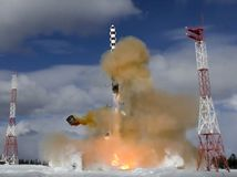 Rusko raketa balistická skúška