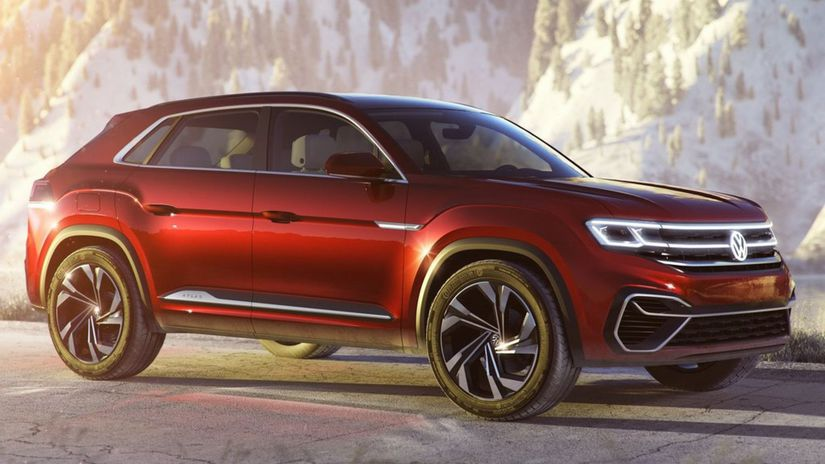 Volkswagen-Atlas Cross Sport Concept-2018-1024-01