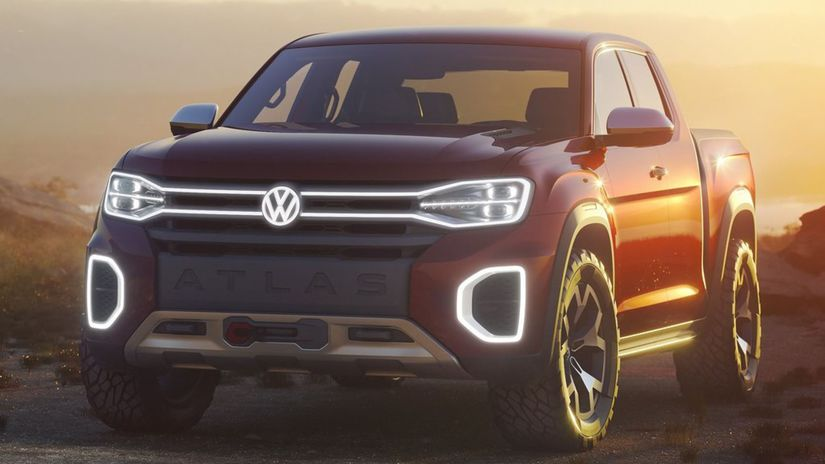 Volkswagen-Atlas Tanoak Pickup...