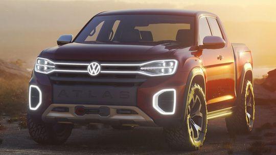 VW Atlas Tanoak: Volkswagen to v USA nevzdáva. Ukázal koncept pick-upu