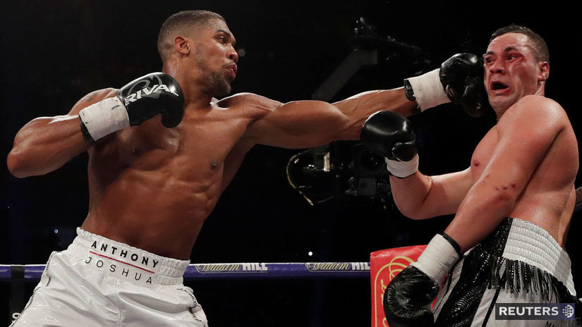 BOX HEAVYWEIGHT/JOSHUA-PARKER