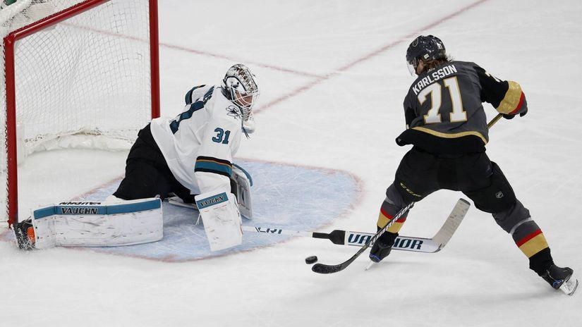 Sharks Golden Knights Hockey Karlsson