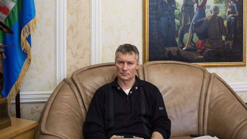 Rusko, Jekaterinburg, starosta, Yevgeny Roizman