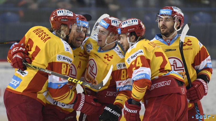 SR Hokej TL play off 1/4 4. Poprad Trenčín POX