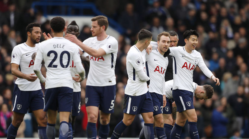 Tottenham, radosť