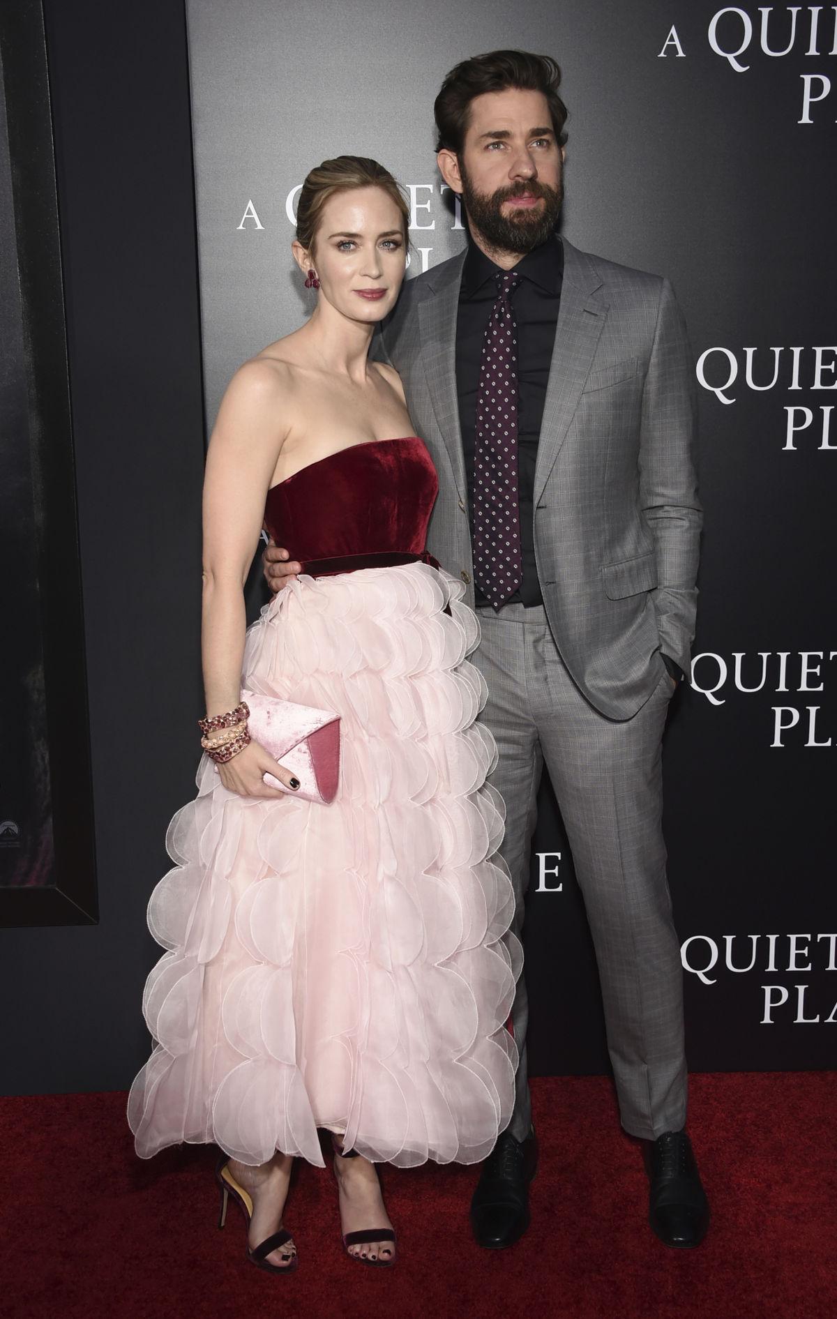 Manželia Emily Blunt a John Krasinski spoločne...