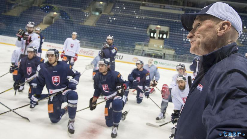 Ramsay tréning hokej