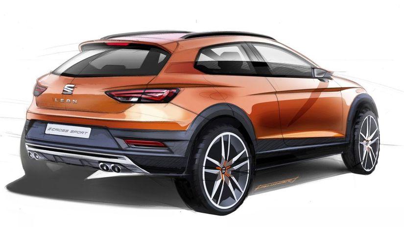 Seat Leon Cross Sport Concept - 2015