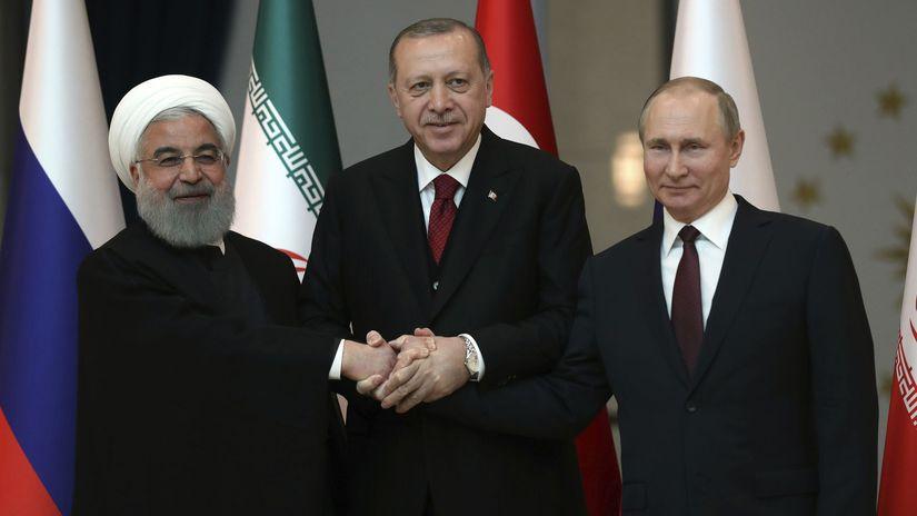 Turecko, Rusko, Irán, prezidenti, návšteva,...
